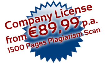 PlagAware license for plagiarism checks